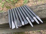 Blacksmith Punch, Chisel and Fuller Set, 10pcs.