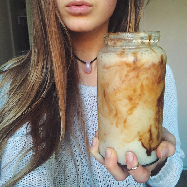Banana Caramel Smoothie by Annie Tarasova