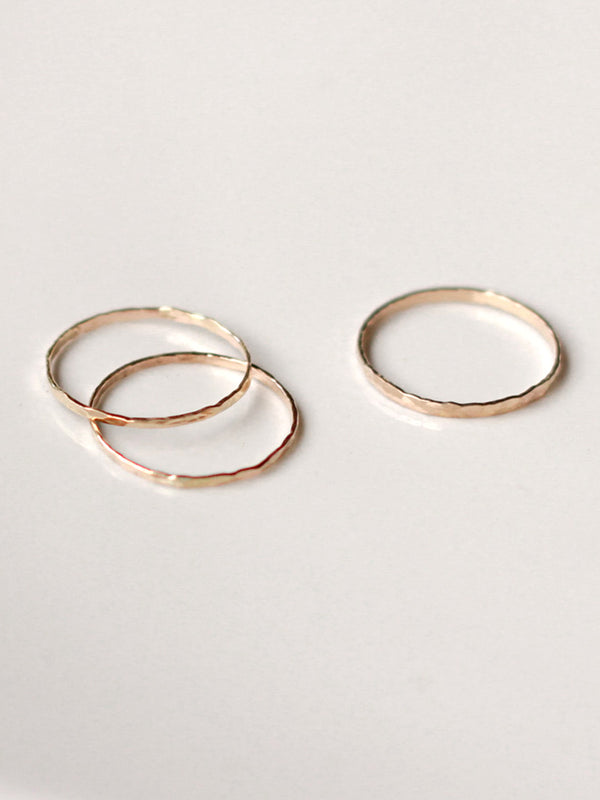 Super Thin Stacker Ring