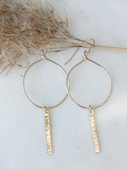 Day or Night Hoop Earrings
