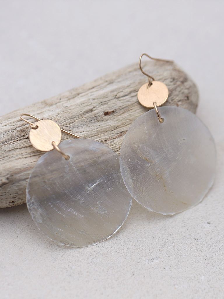 Capiz Shell Earrings