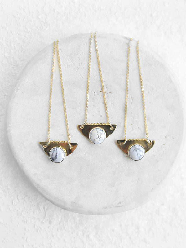 SET Marble Necklace