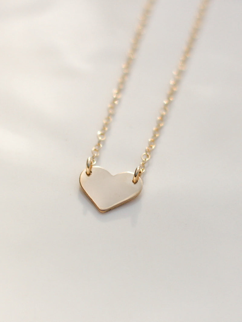 Little Heart Choker Necklace