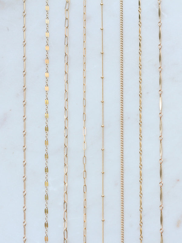 EVERYDAY CHAIN CHOKERS