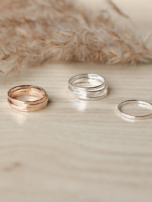 Thin Stacker Ring