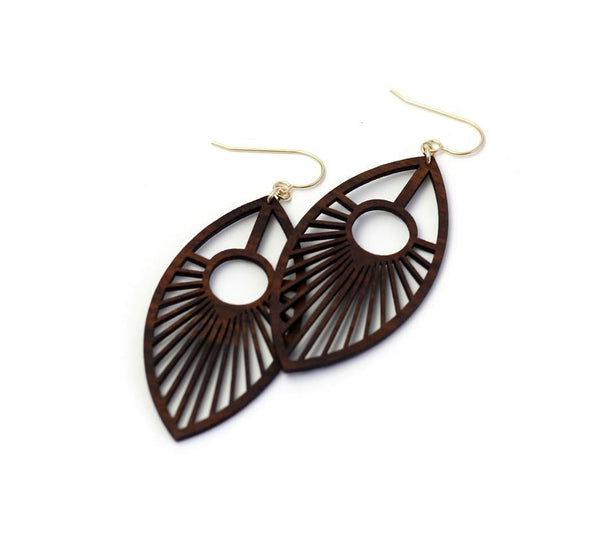 Eye of the Peacock Earrings