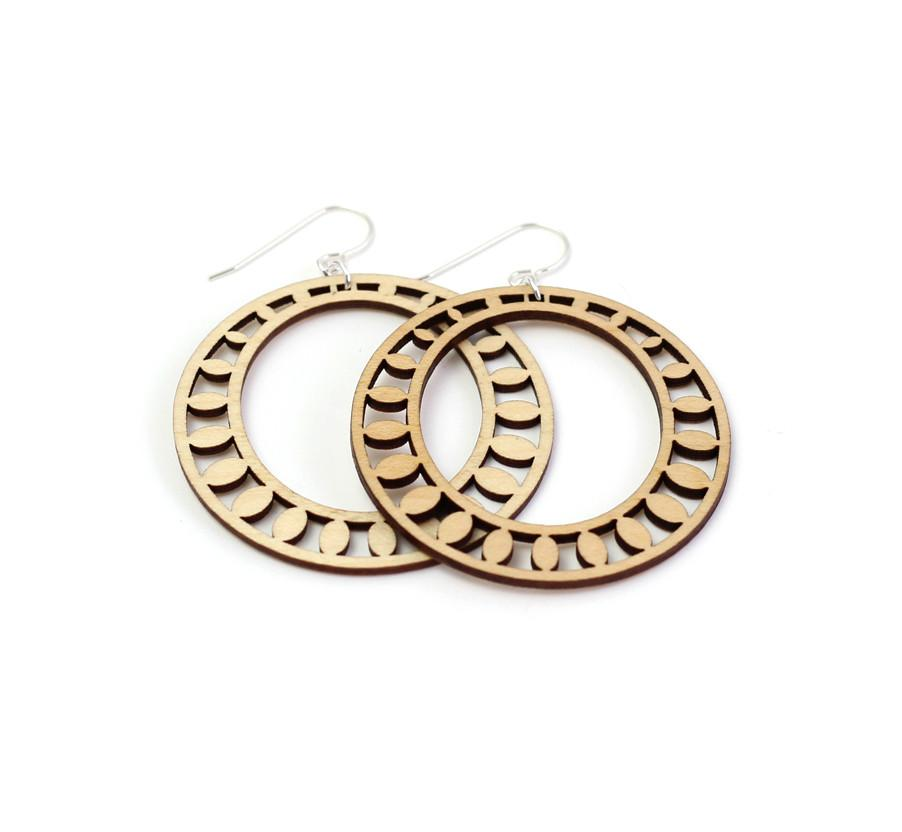 Sundrop Hoop Earrings