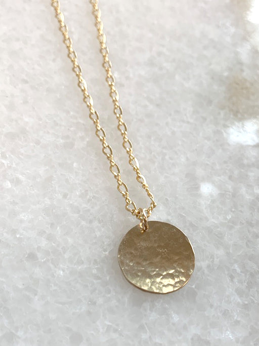 Stunner Disc Necklace