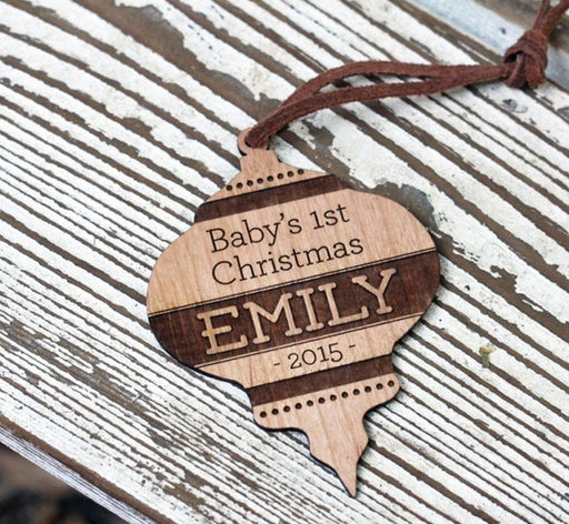 Baby's 1st Christmas Bulb Ornament - COMPANY KIND