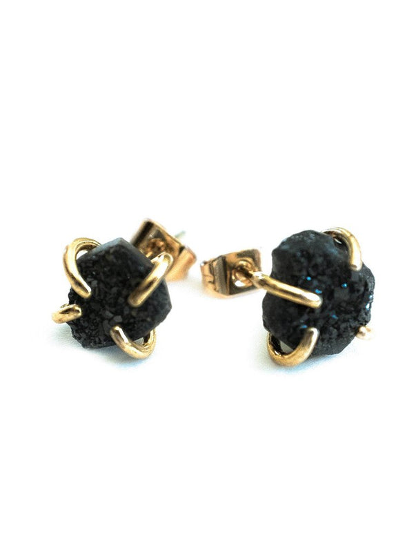 Gemstone Prong Studs