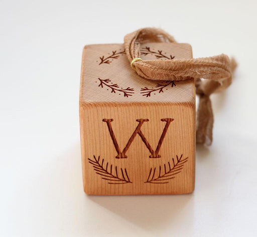 Woodland | Baby Block Ornament