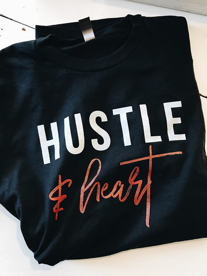 Hustle & Heart Tee