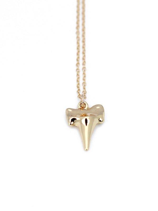 Dipped Shark Tooth Necklace