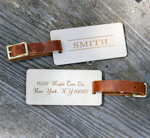 Surname Luggage Tags