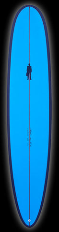 Performance Longboard | Black & Blue