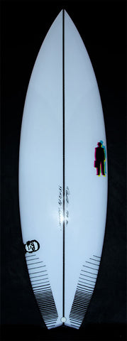 "Monstavarotti 5'8"" swallowtail 