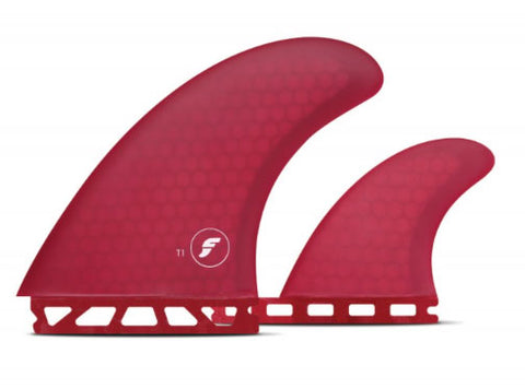 T1 Twin + 1 | Futures Honeycomb Fins