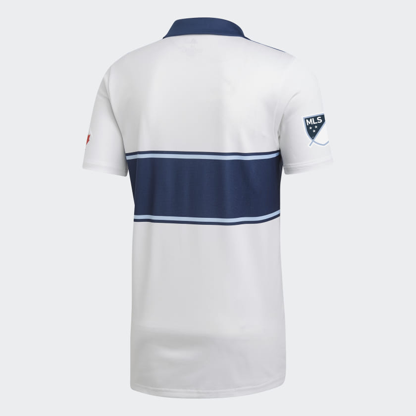 best loved cd07c 5f970 VANCOUVER WHITECAPS FC HOME REPLICA JERSEY