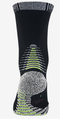 NikeGrip Lightweight Crew Socks by Nike in Black