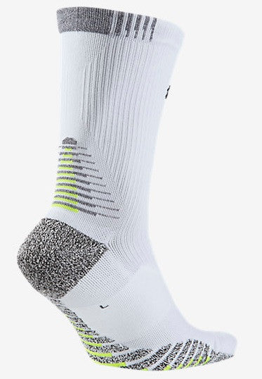 NikeGrip Lightweight Crew Socks by Nike in White