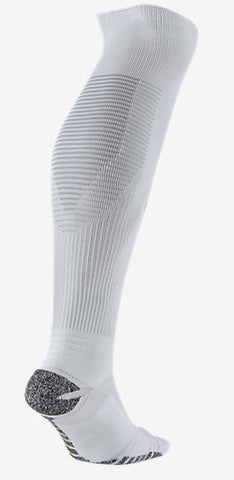 NikeGrip Lightweight Over the Calf Socks by Nike in White