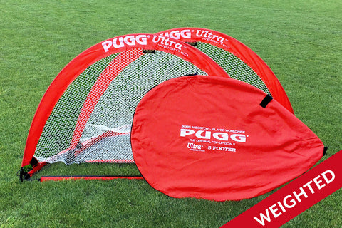 5ft. PUGG Weighted Soccer Net Set