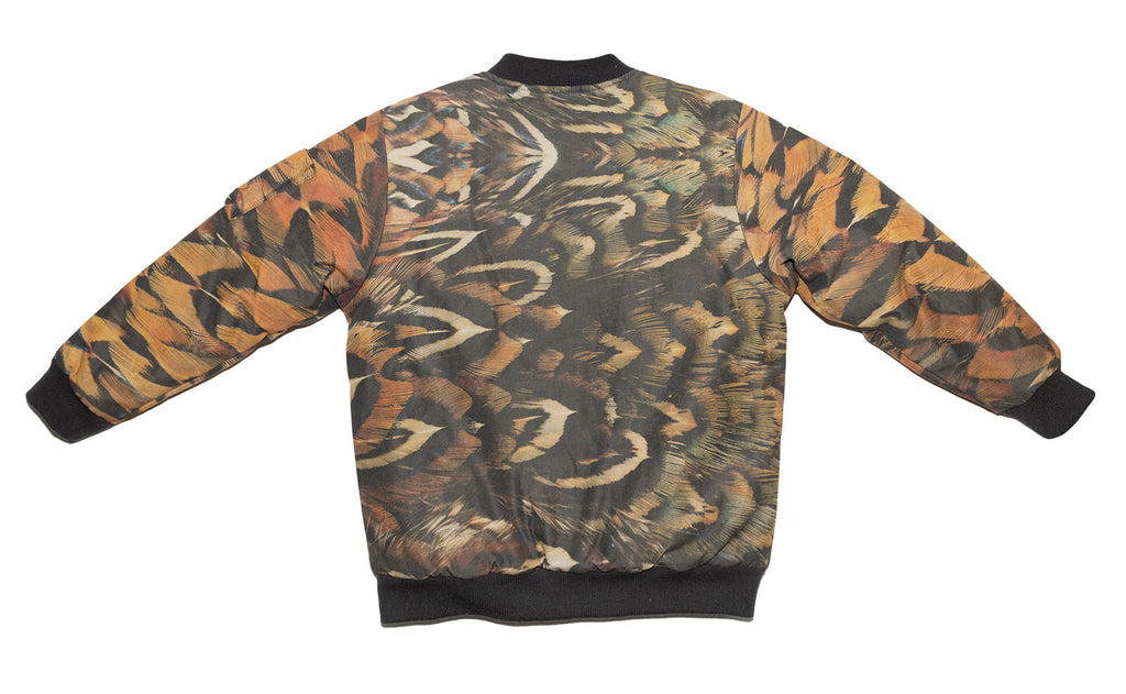 Feather Camouflage MA-1 Bomber Jacket