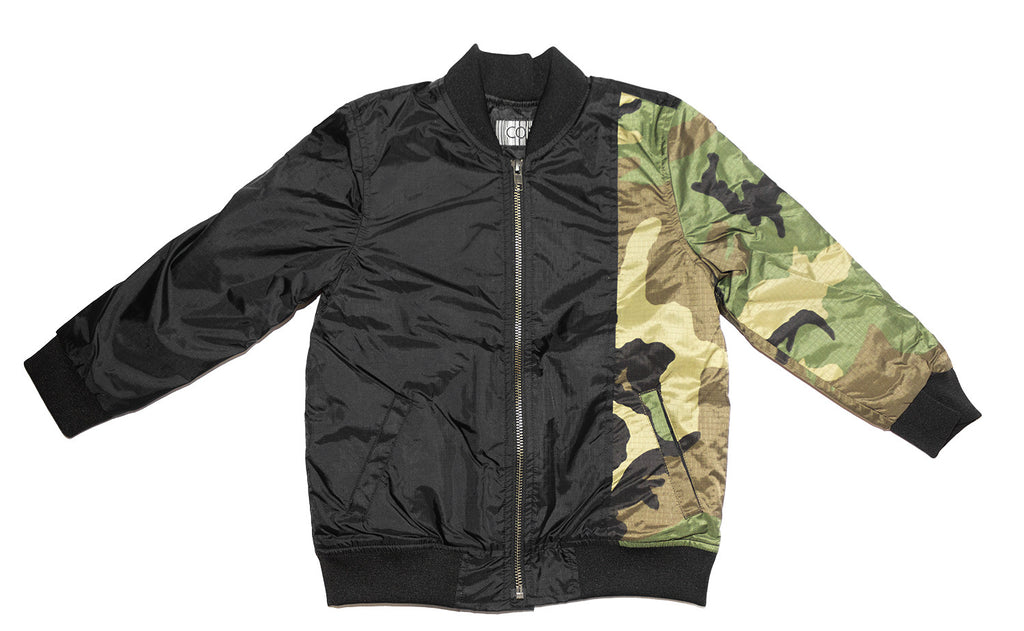 Con Little Commander Bomber Jacket