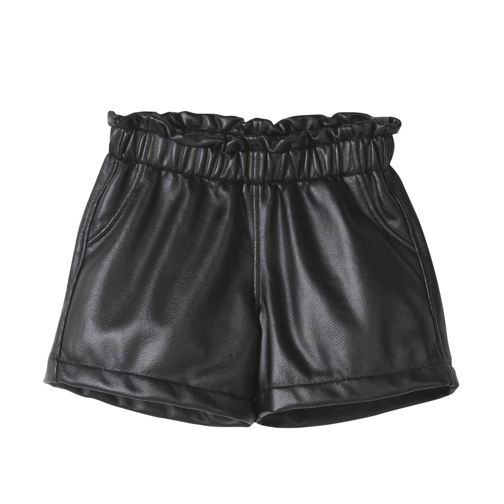 Coated Fleece Shorts