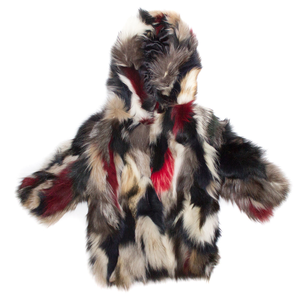 Mixed CLK Fur Jacket