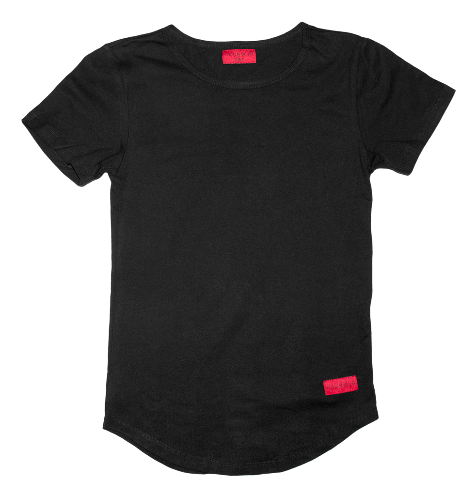 Haus of JR E-Long Tee Black
