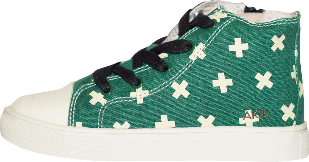 ANTHONY - HALFSIES (BLACK/GREEN)