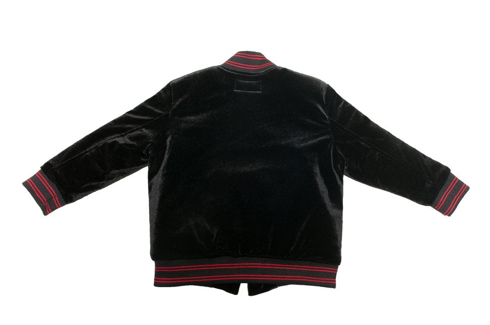 Little Infrared Velvet Jacket