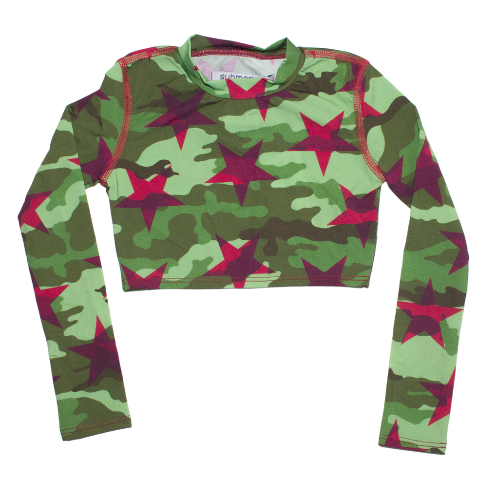 Army Stars Rash Guard