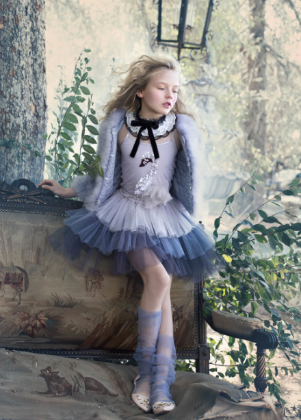 MOONLIGHT TUTU SKIRT - SHADOW