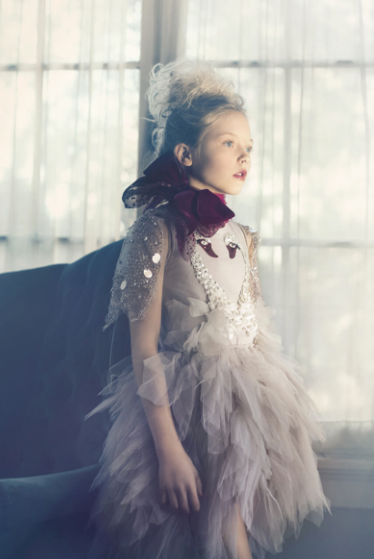 SWAN WITH ME TUTU DRESS - CLOUD