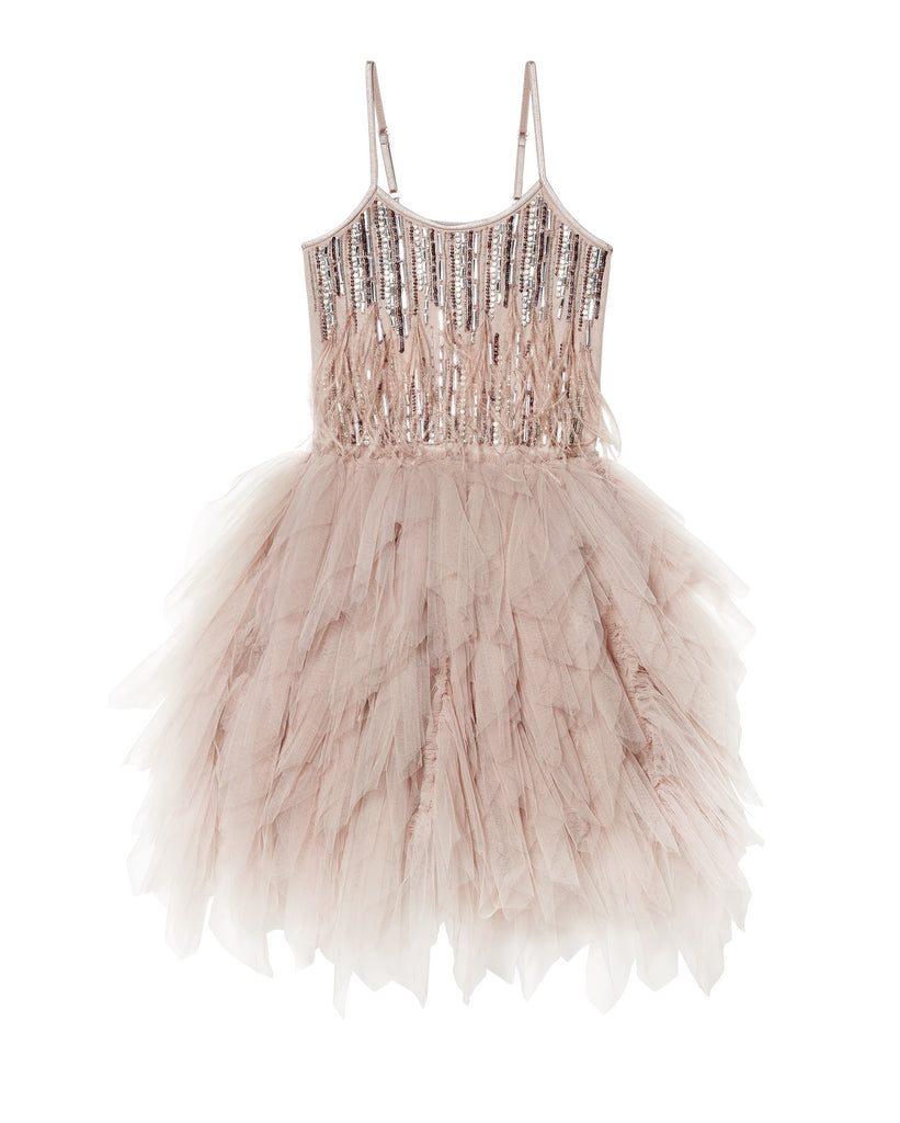 WILD AND GORGEOUS TUTU DRESS - NUTMEG