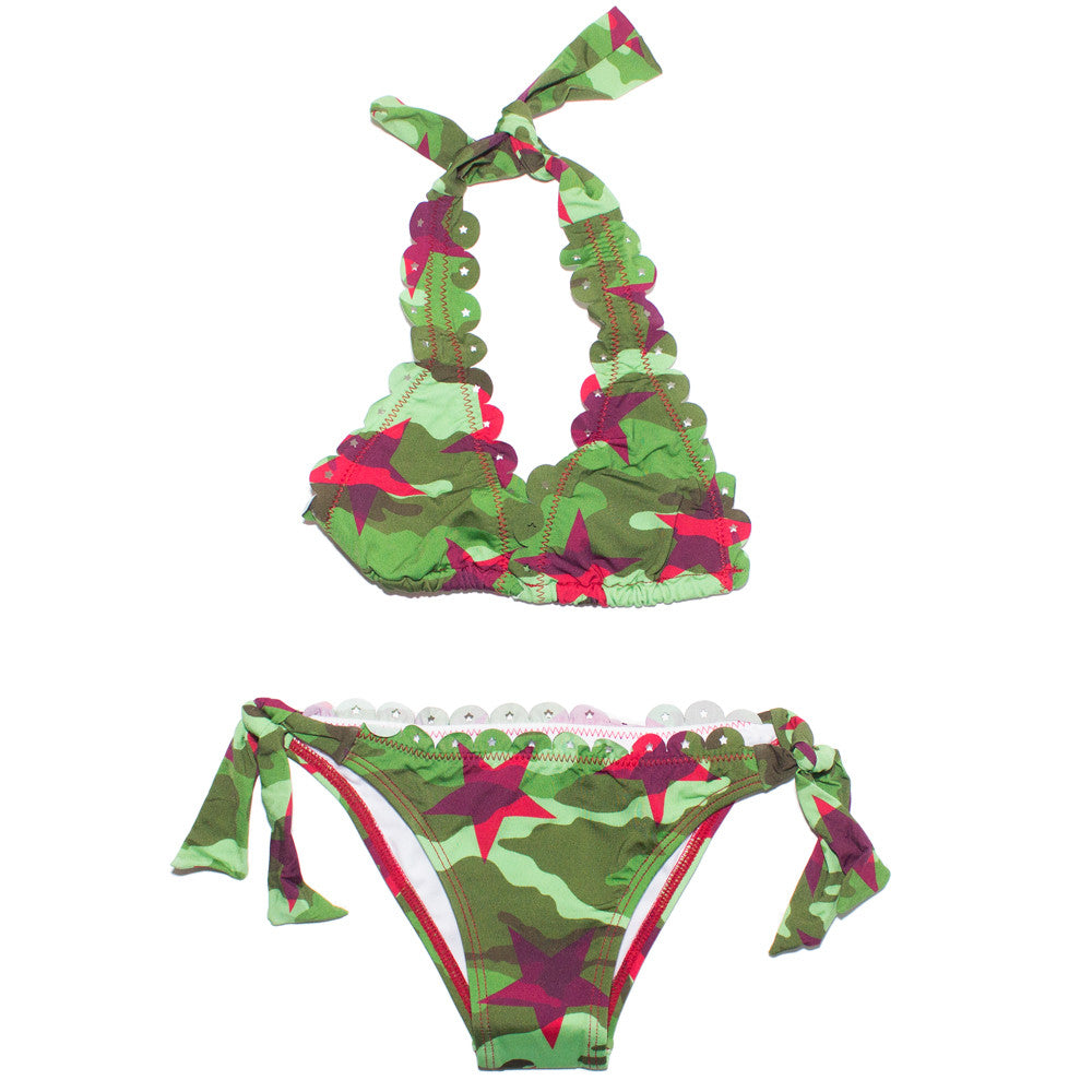 Army Two Piece Bikini