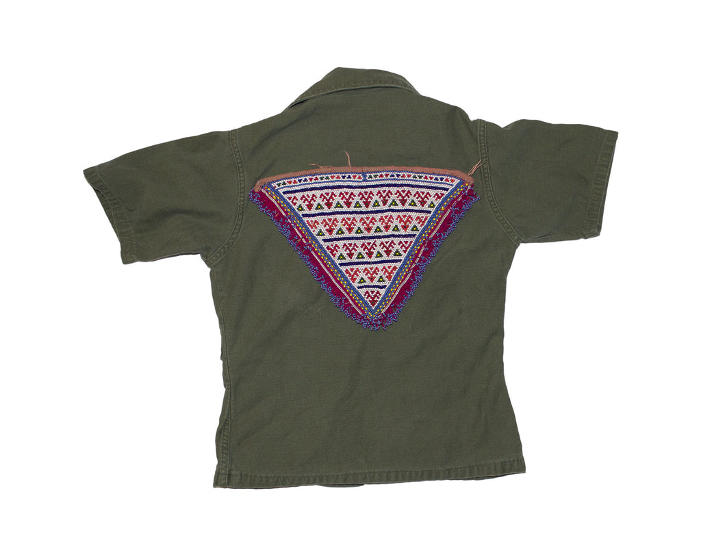Army Jacket Pink Triangle