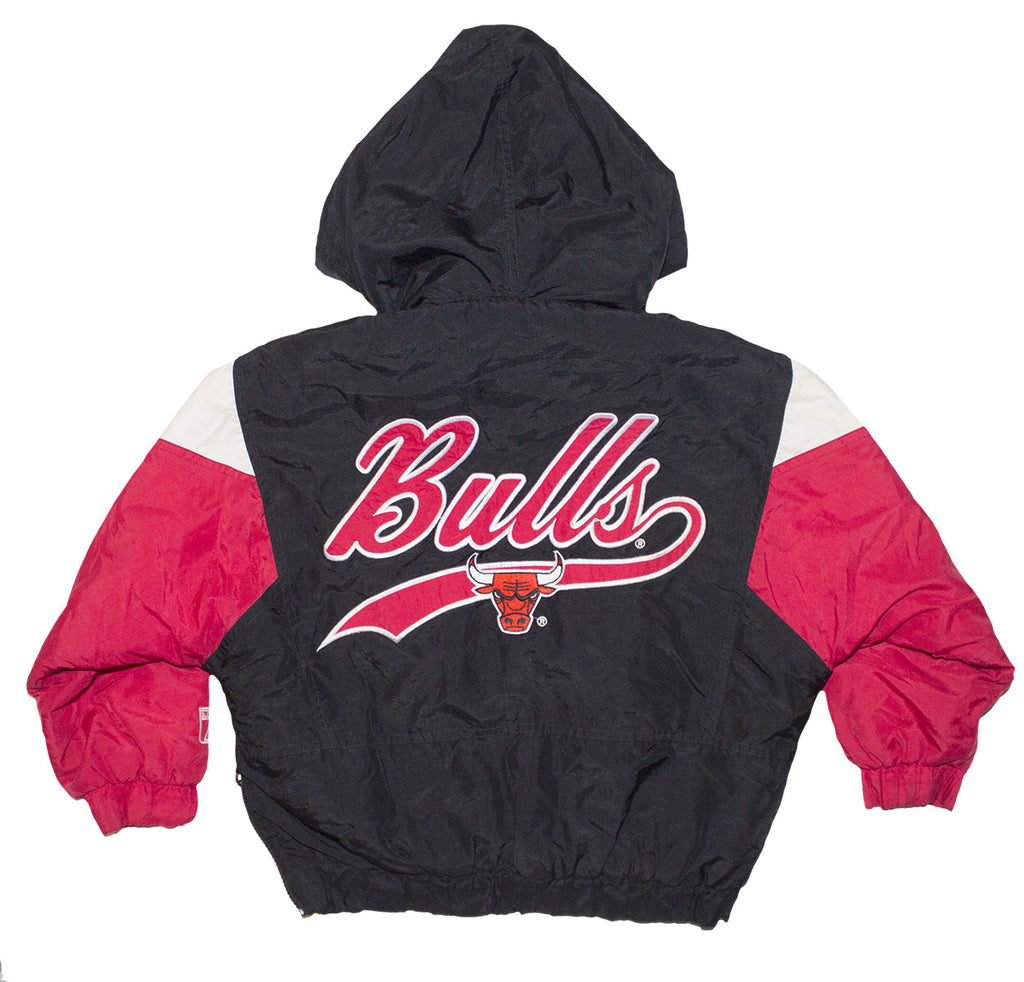 Vintage Bulls Hooded Jacket