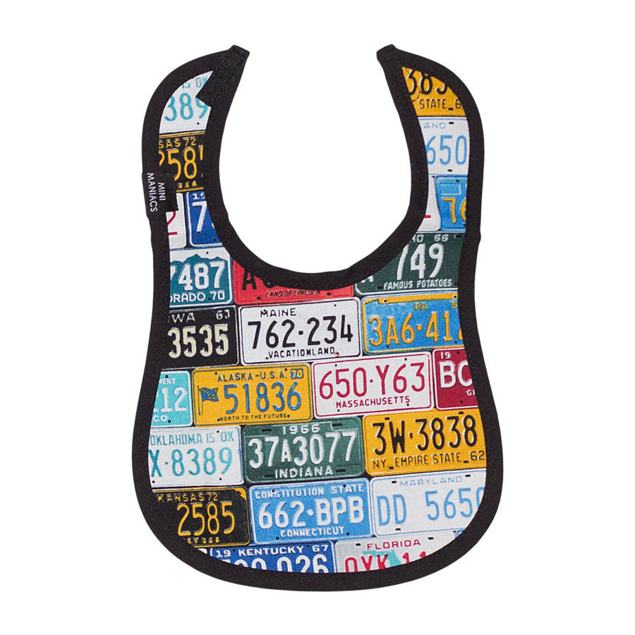 License Plate Bib and Placemat