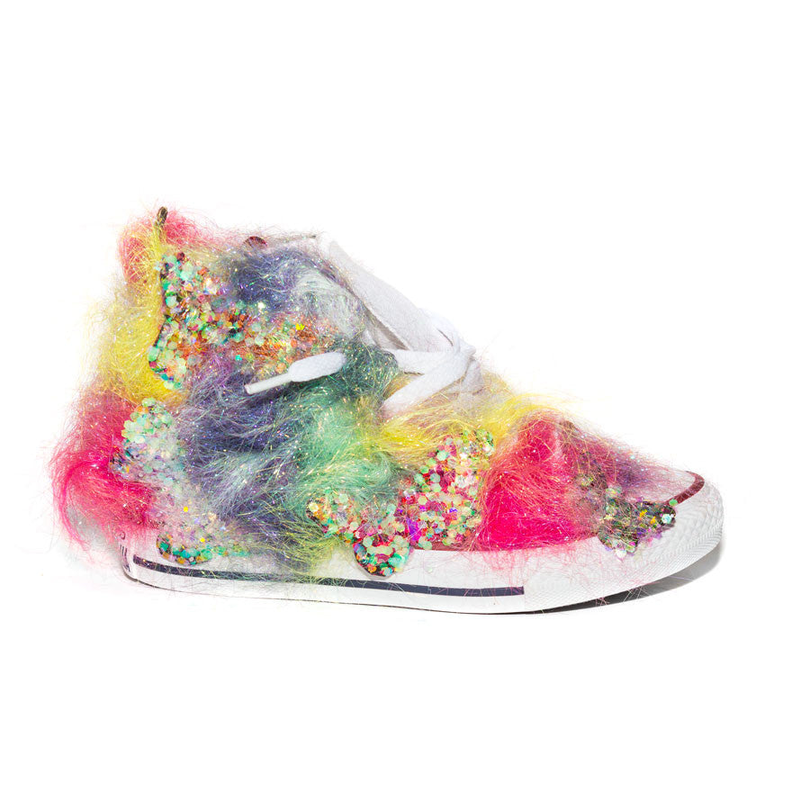 Butterfly Candy Lane Kidz X Gasoline Glamour Converse Shoes