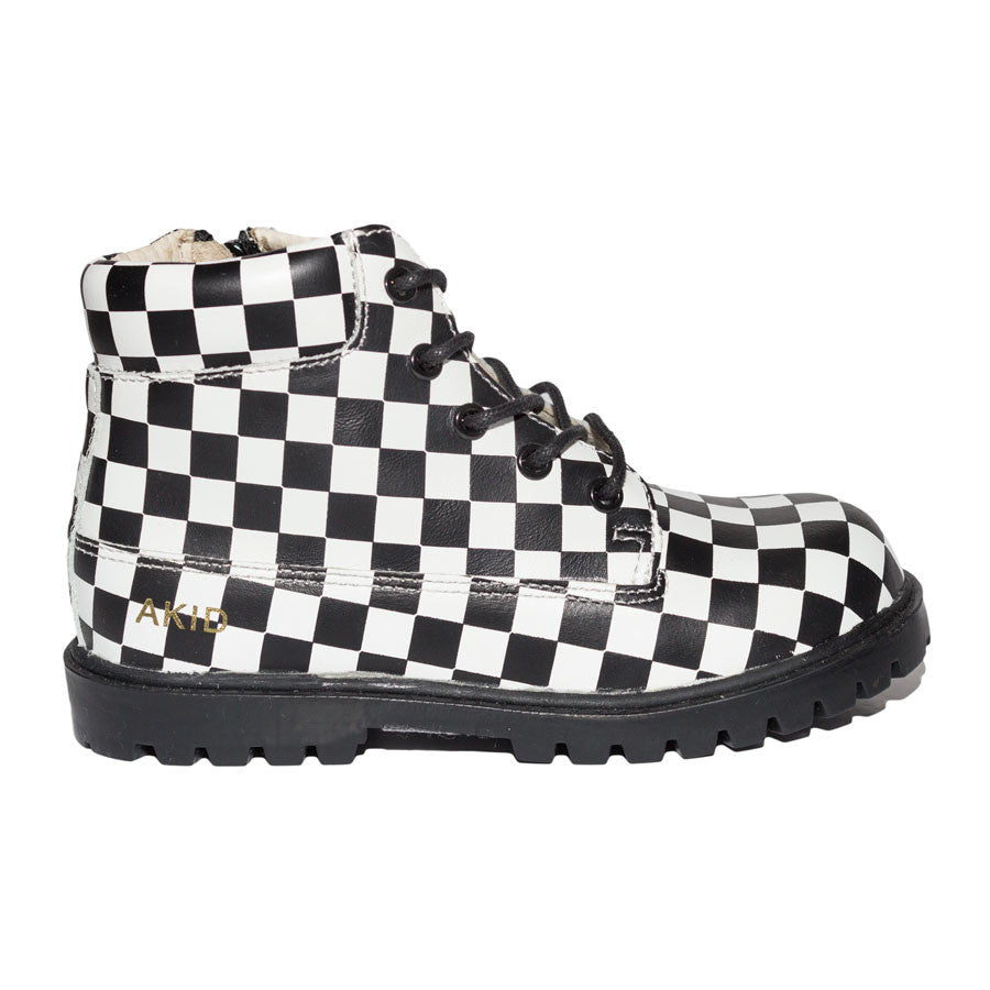 Atticus Checkered Boots