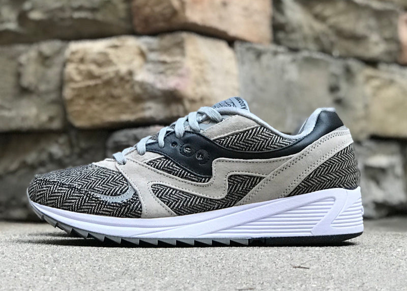ab545329f83d SAUCONY GRID CL 8000 HT TAILORED - GRY BLK – NOTIS Collection