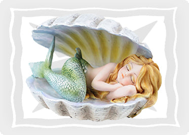 Mermaid & Unicorn Figurines