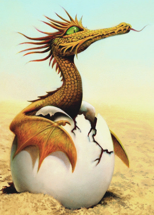 Dragon Hatching Card -- DragonSpace