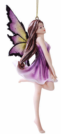 Violet Fairy Ornament