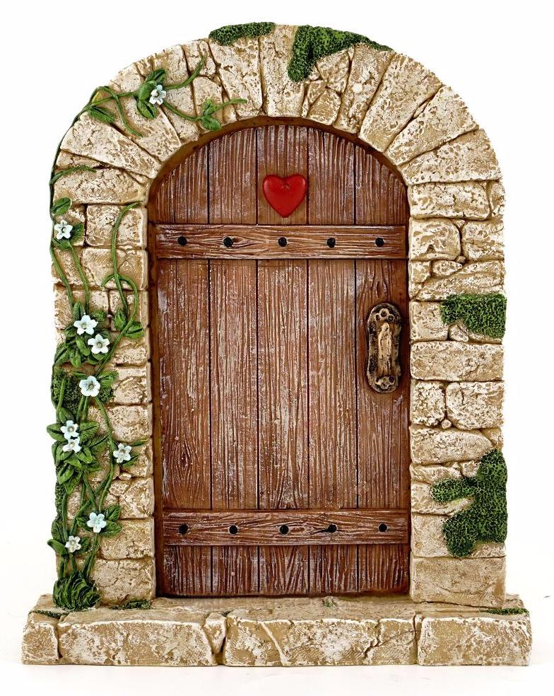 Cobblestone Fairy Door -- DragonSpace