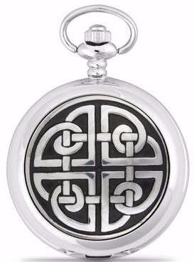 Celtic Knotwork Pocket Watch -- DragonSpace