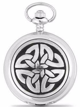 Celtic Triag Pocket Watch -- DragonSpace